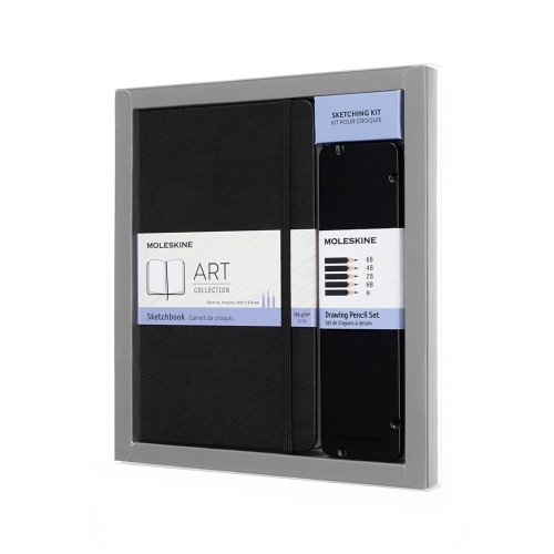 Moleskine art sketching kit