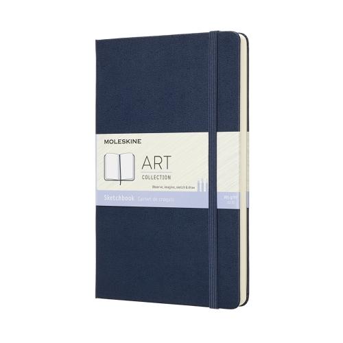 moleskine sketchbook sapphire blue
