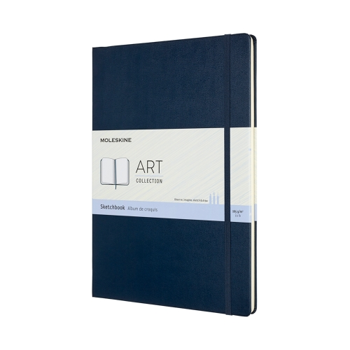 moleskine sketchbook blue